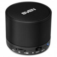Колонка портативная Bluetooth Sven PS-45BL Black