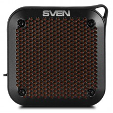 Колонка портативная Bluetooth Sven PS-88 Black