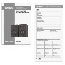 Акустическая система 2.0 Sven SPS-580 Black