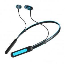 Наушники гарнитура вакуумные Bluetooth Sven E-230B Black/Blue