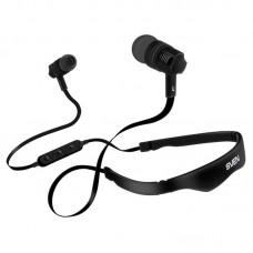 Наушники гарнитура вакуумные Bluetooth Sven E-215B Black