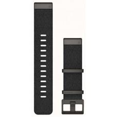 Ремешок Nylon Garmin QuickFit для Samsung Xiaomi Huawei Garmin Fitbit 22mm Black (010-12738-03)