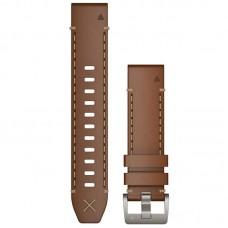 Ремешок PU Garmin QuickFit для Samsung Xiaomi Huawei Garmin Fitbit 22mm Brown (010-12738-04)