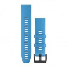 Ремешок TPU Garmin QuickFit 22mm для Garmin Fenix 5 Plus Cyan/Blue (010-12740-03)
