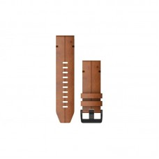 Ремешок Leather Garmin QuickFit 26mm для Garmin Fenix 6X Brown (010-12864-05)