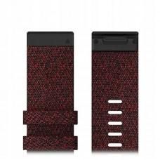 Ремешок TPU Garmin QuickFit 26mm для Garmin Fenix 6X Heathered Red (010-12864-06)