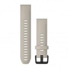 Ремешок TPU Garmin QuickFit 20mm для Garmin Fenix 6S Light/Sand (010-12869-00)