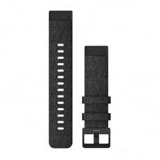 Ремешок TPU Garmin QuickFit 20mm для Garmin Fenix 6S Heathered Black (010-12875-00)