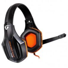 Наушники гарнитура накладные Gemix W-330 Gaming Black/Orange (04300087)