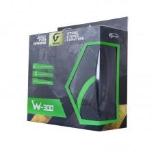 Наушники гарнитура накладные Gemix W-300 Black/Green