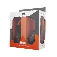 Наушники гарнитура накладные Gemix N20 Black/Orange (04300106)