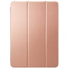 Чехол книжка PU Spigen Smart Fold для Apple iPad Pro 12.9 2018 Rose Gold (068CS25713)