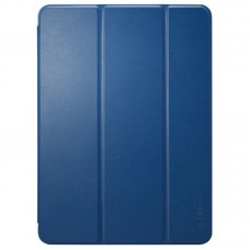 Чехол книжка PU Spigen Smart Fold для Apple iPad Pro 12.9 2018 Blue (068CS25714)