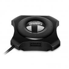 USB HUB USB-USB 4USB 2.0 Sven HB-432 Black
