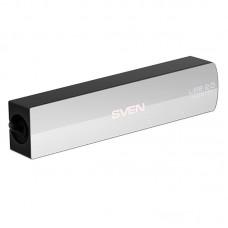USB HUB Sven USB-USB 4USB 2.0 HB-891 Silver