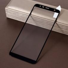 Защитное стекло Optima Full cover для Samsung J6 Plus J610 черный