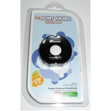 USB HUB Atcom USB-USB 4USB 2.0 TD1031 Black (10720)