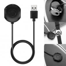 Зарядное устройство SK для смарт часов Nokia Steel HR 36mm 40mm черный