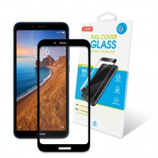 Защитное стекло Global Full Glue для Xiaomi Redmi 7A Black (1283126493942)