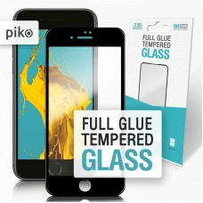 Защитное стекло Piko Full Glue для Apple iPhone SE 2020 7 8 Black (1283126501418)