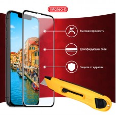 Защитное стекло Intaleo Full Glue для Xiaomi Redmi Note 9 Black (1283126502729)