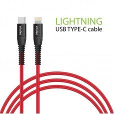 Кабель Intaleo Type-C-Lightning 1.2m CBRNYTL1 Red (1283126504129)