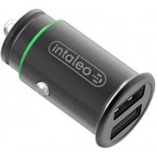 Адаптер автомобильный Intaleo CCG482 2USB 4.8A Black (1283126504525)