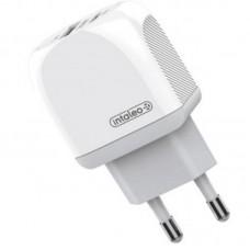 Адаптер сетевой Intaleo TCQ PD 20W 2USB 3A White (1283126506581)