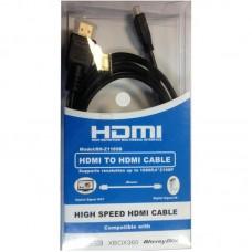 Кабель HDMI-MicroHDMI Atcom 2m blister Black (15268)