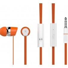 Наушники гарнитура вакуумные Utty UHS-123 Orange (168761)