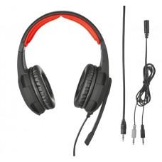 Наушники гарнитура накладные Trust GXT 310 Gaming Headset Black (21187)