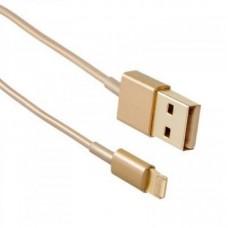 Кабель Drobak USB-Lightning 1.0м Gold (215341)