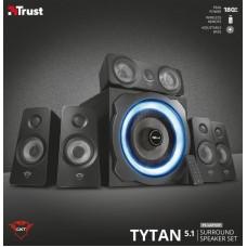 Акустическая система 5.1 Trust GXT 658 Tytan Surround Speaker System Black (21738)