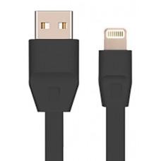 Кабель Drobak USB-Lightning 1m DR-1624 Black (219085)