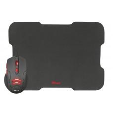 Мышь Trust Ziva (21963) Black USB + коврик
