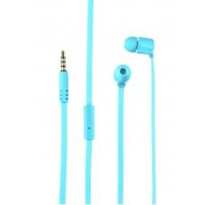 Наушники гарнитура вакуумные Trust Duga Neon Blue (22107)