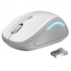 Мышь Wireless Trust Yvi FX (22335) White USB