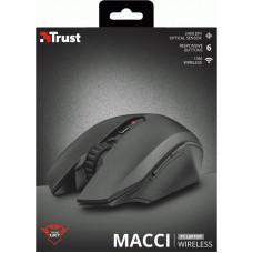 Мышь Wireless Trust GXT 115 Macci (22417) Black USB
