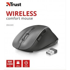 Мышь Wireless Trust Ravan (22878) Black USB