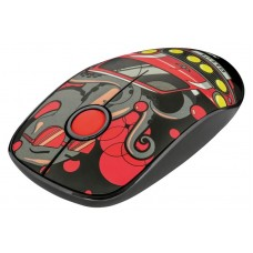 Мышь Trust Sketch Wireless Silent Click Mouse (23336) Red USB