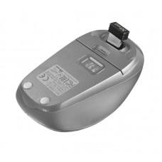 Мышь Wireless Trust Yvi (23386) White/Silver USB