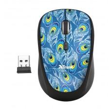 Мышь Wireless Trust Yvi Peacock (23388) Black USB