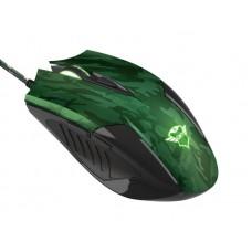 Мышь Trust GXT 781 Rixa (23611) Camo Green USB + коврик