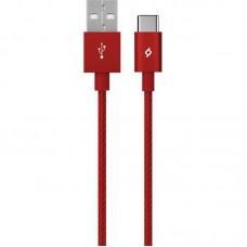 Кабель Ttec USB-Type-C AlumiCable 1.2m Red (2DK18K)