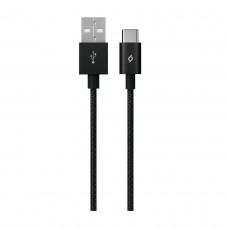 Кабель Ttec USB-Type-C AlumiCable 1.2m Black (2DK18S)