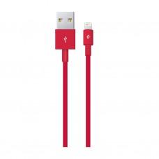 Кабель Ttec USB-Lightning 1m Red (2DK7508K)