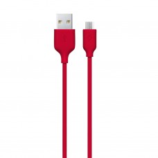 Кабель Ttec USB-MicroUSB 1.2m Red (2DK7530K)