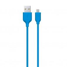 Кабель Ttec USB-MicroUSB 1.2m Blue (2DK7530M)