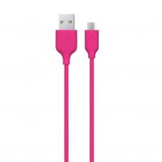 Кабель Ttec (2DK7530P) USB-MicroUSB 1.2m Pink