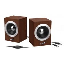 Акустическая система Genius SP-HF280 2.0 Wood Brown (31730028400)